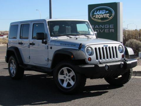 Pre-Owned 2012 Jeep Wrangler Unlimited Rubicon Four Wheel Drive Sport Utility