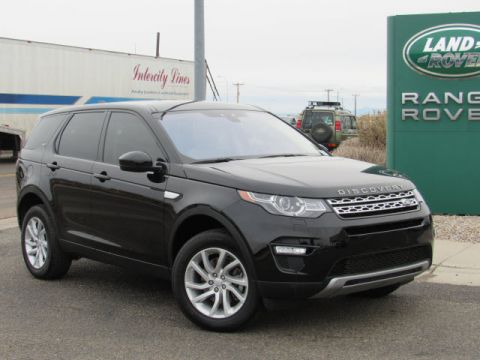 Certified Pre-Owned 2017 Land Rover Discovery Sport HSE Four Wheel Drive Sport Utility