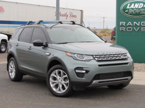 Certified Pre-Owned 2015 Land Rover Discovery Sport HSE Four Wheel Drive SUV