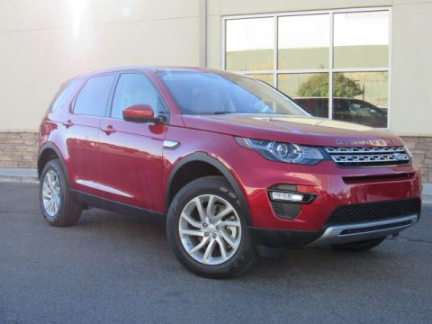 New 2018 Land Rover Discovery Sport HSE Four Wheel Drive SUV