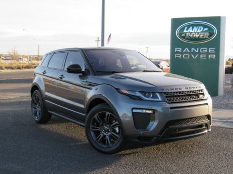 New 2018 Land Rover Range Rover Evoque Landmark Edition Four Wheel Drive SUV