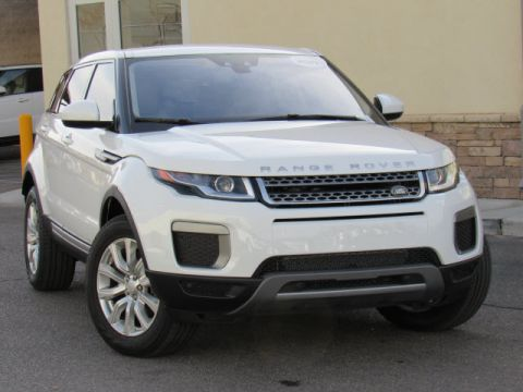 Certified Pre-Owned 2017 Land Rover Range Rover Evoque SE Four Wheel Drive SUV
