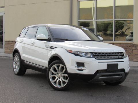 Certified Pre-Owned 2015 Land Rover Range Rover Evoque Pure Plus Four Wheel Drive SUV