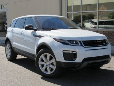 New 2018 Land Rover Range Rover Evoque SE Four Wheel Drive SUV