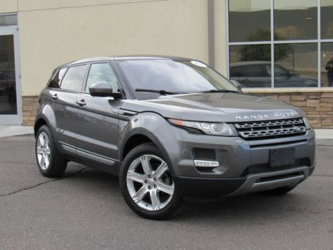 Certified Pre-Owned 2015 Land Rover Range Rover Evoque Pure Premium Four Wheel Drive SUV
