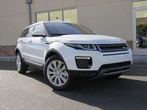 New 2018 Land Rover Range Rover Evoque HSE Four Wheel Drive SUV