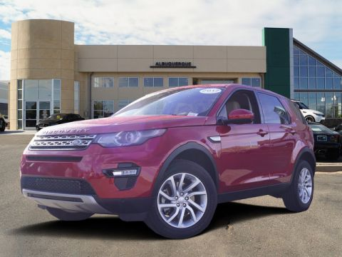 Certified Pre-Owned 2017 Land Rover Discovery Sport HSE 3rd Row Seat